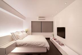 欧式 北欧 简约 现代 温馨 西安 装修 设计 卧室图片来自翼森设计在一屋一风情的分享
