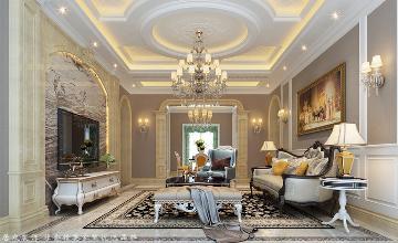 银马公寓-欧式风格-209平