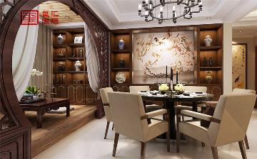 170平华堂聚瑞五居室中式风格