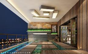 三居 中式 阳台图片来自厦门居众装饰设计工程有限公司在国贸天琴湾-中式风格-165㎡的分享