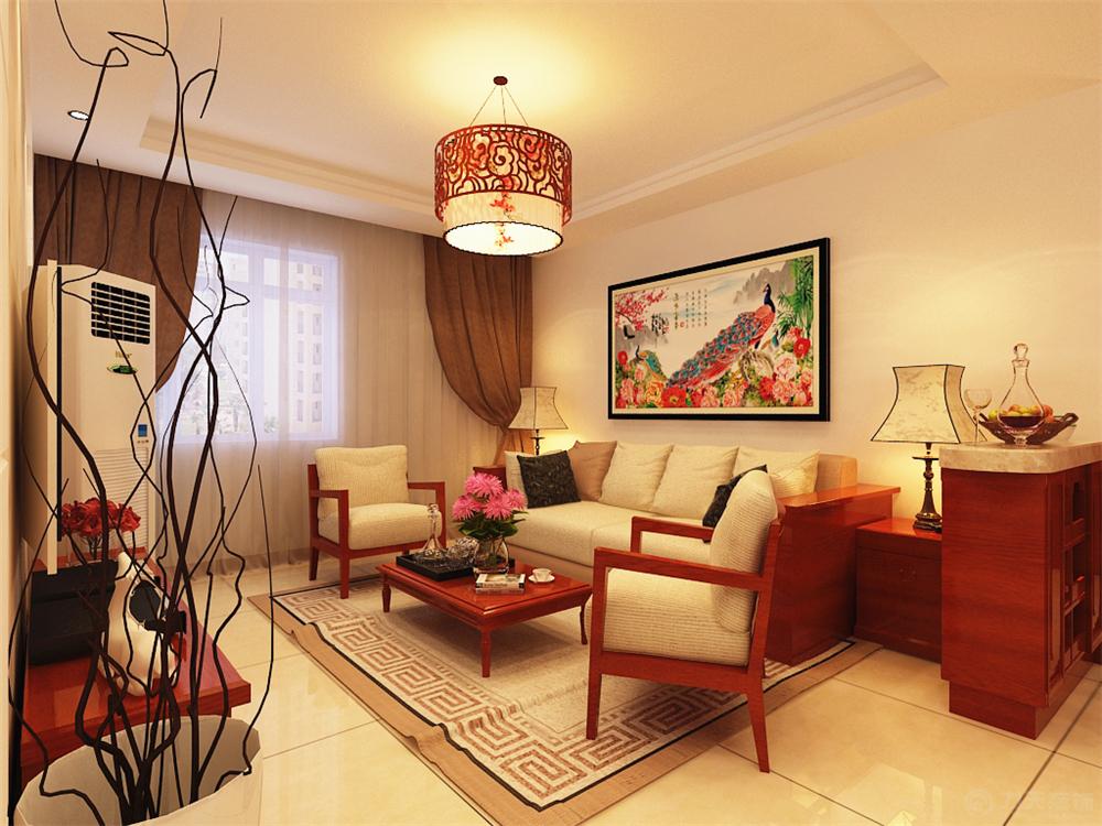 本方案主要以新中式风格为设计手法,中国传统的室内设计融合了庄重与图片