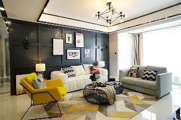 家的温暖 95平现代舒适雅致3居