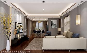 中铁元湾-中式风格-170㎡