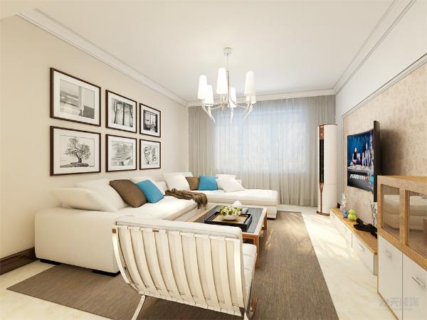 本案是宝能城132平米的户型,三室两厅一厨两卫,现代风格。