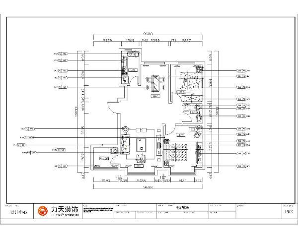 本户型为奥莱城小高层标准层B户型两室两厅一厨一卫95平方米的户型,首先从入户门进入顺时针方向依次为厨房、餐厅、次卧室、卫生间、主卧室、客厅和多功能间。整体布局比较合理、南北通透、采光好