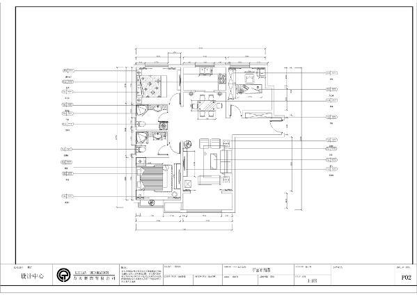本户型是天津华侨城-D-3室2厅2卫-126.00㎡,从入户门说起,首先看到的是一个可放置衣柜的空间,然后是书房,书房的空间足够的大,可以做书房也可以做客卧,都因户主的需求而改变