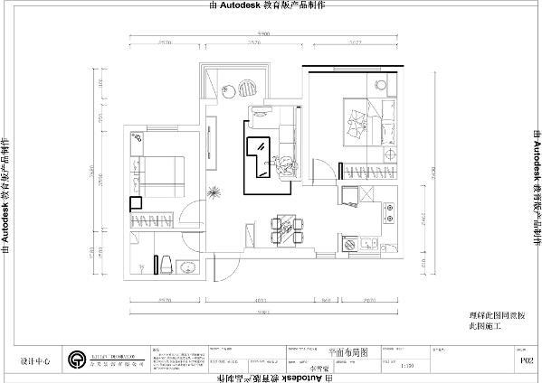 从入户门进入的左手边是卫生间的位置,卫生间干湿分离布局合理,卫生间前面是次卧,次卧可作为儿童房,可放置单人床以及衣柜,入户门右边可放置鞋帽柜
