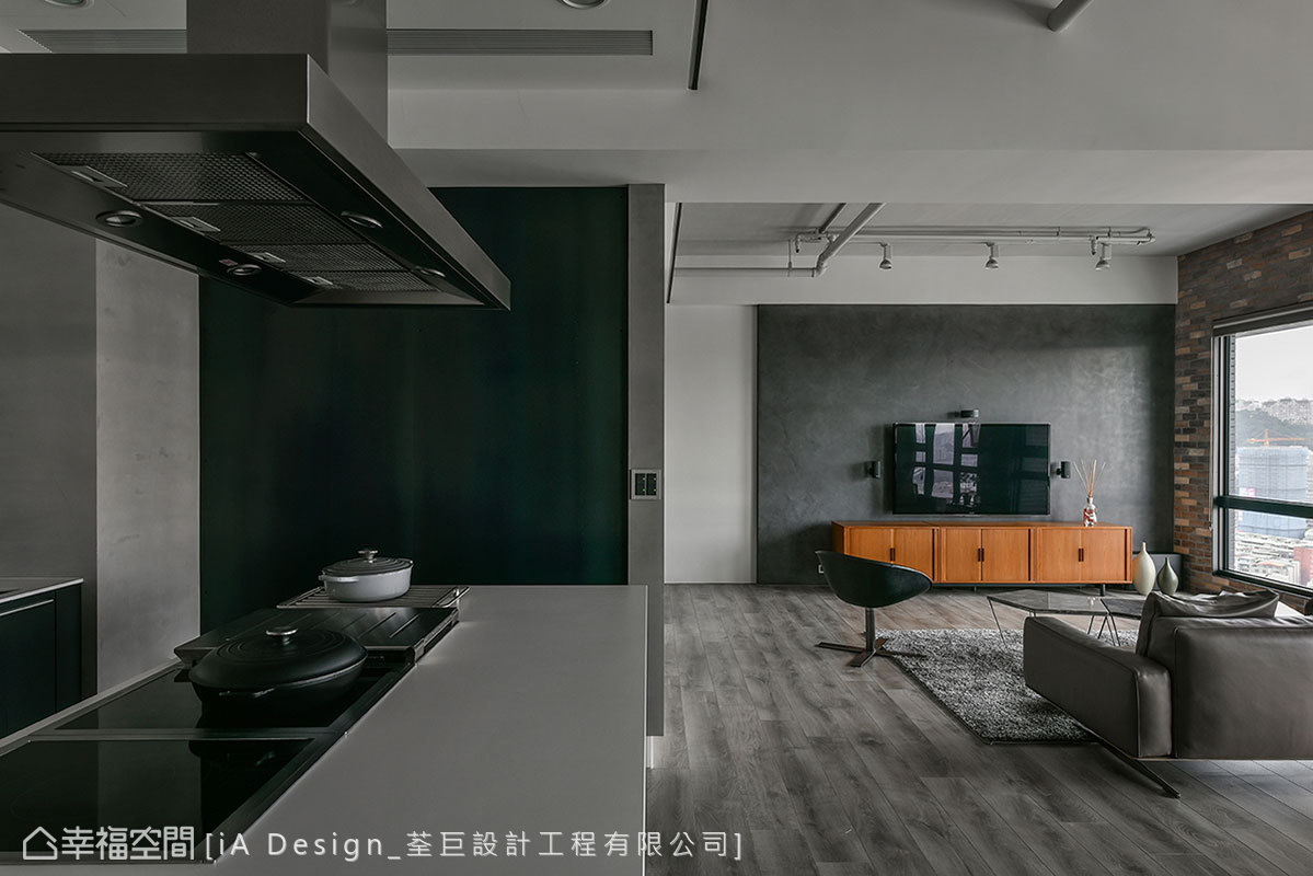 现代 简约 二居 收纳 厨房图片来自幸福空间在Open house的分享