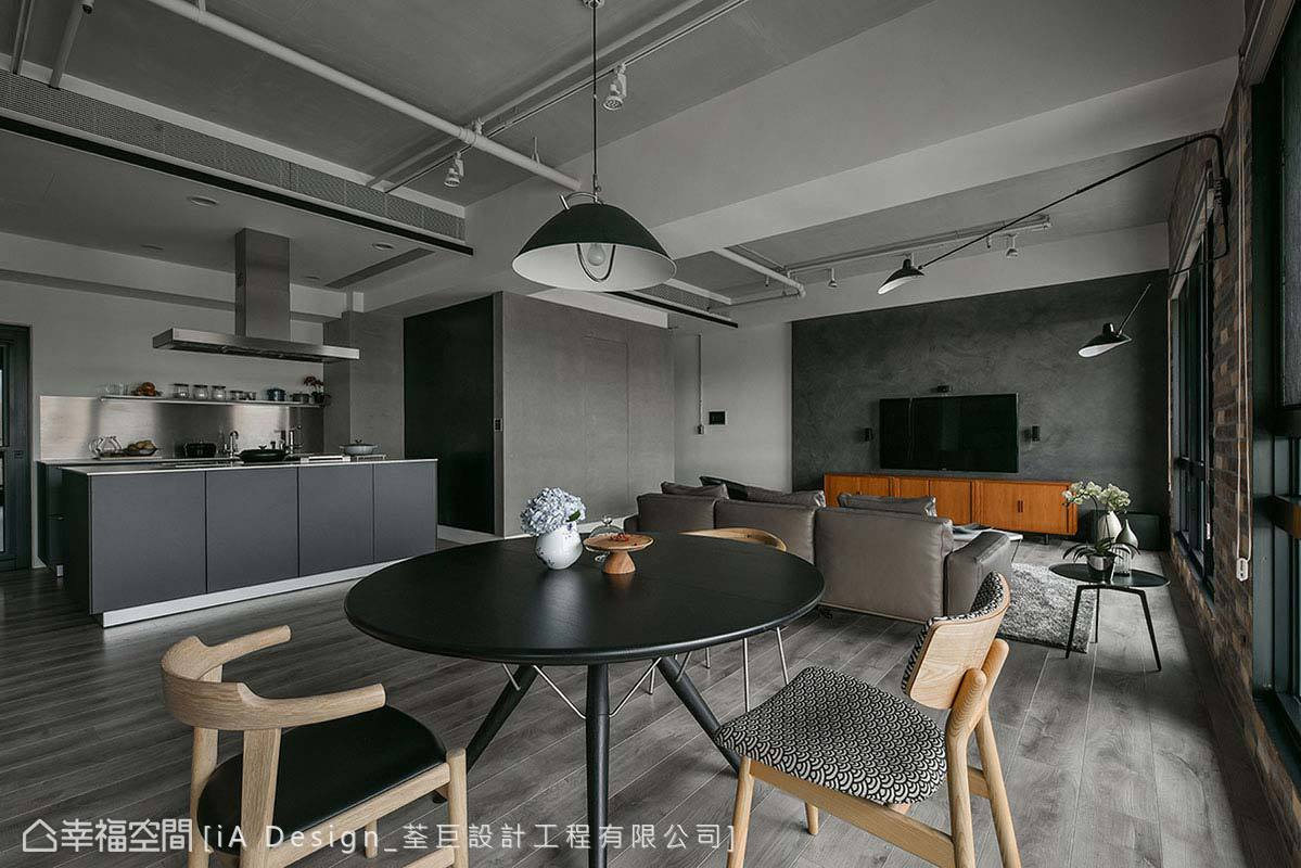 现代 简约 二居 收纳 餐厅图片来自幸福空间在Open house的分享