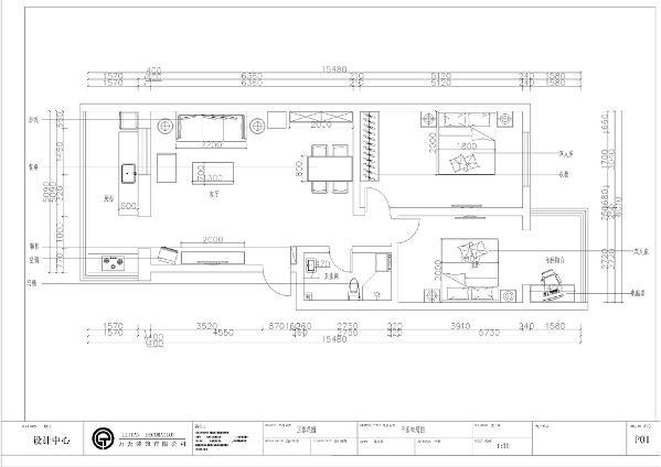 该户型玉蓉花园两室一厅一厨一卫93平方米。