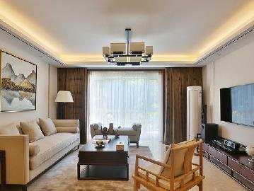 回龙观总政小区三居室中式风格
