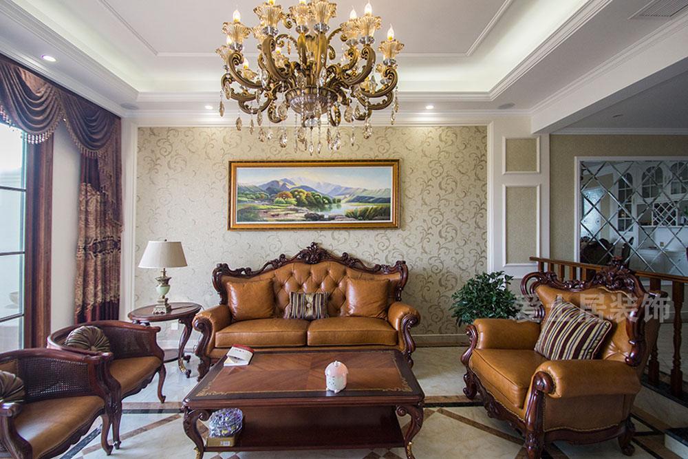 【碧桂园】280平欧式风格案例分享/样板房/效果图图片