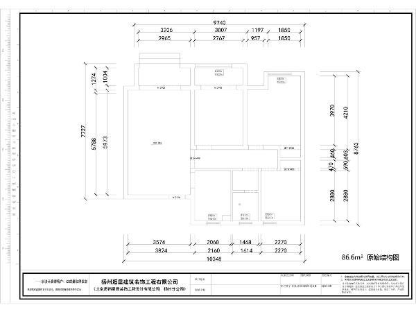 1.这是个常规的户型,三房两厅一卫,户型比较方正,南北通透,采光较好。 2.餐厅位置比较小,储藏空间较少。