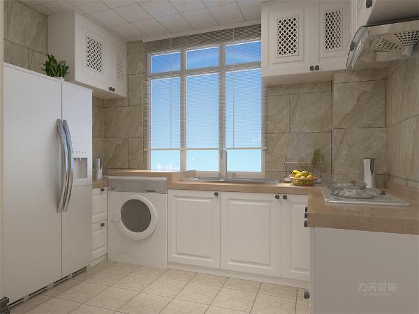 厨房布局合理,空间显大