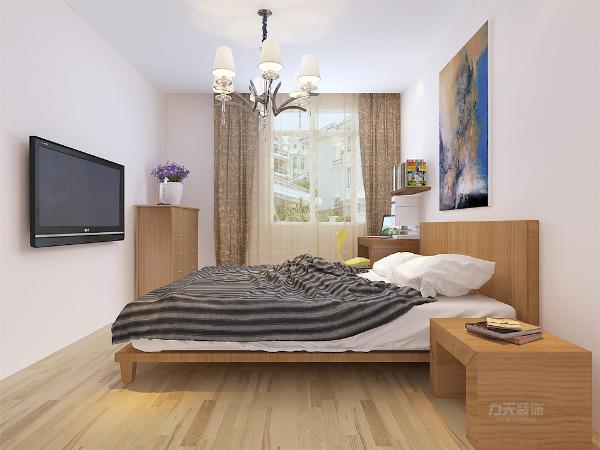 卧室整体温馨舒适,整体空间为白色乳胶漆,配以实木的家具加上充足的采光使床头增加活力。让卧室更加魅力。入户过道给人眼前一亮的感觉,让人感觉特别温馨。