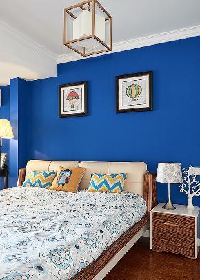 卧室图片来自家装大管家在140平简约美式复式 就是这么大气的分享