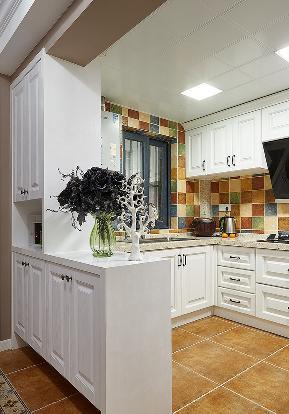 厨房图片来自家装大管家在140平简约美式复式 就是这么大气的分享