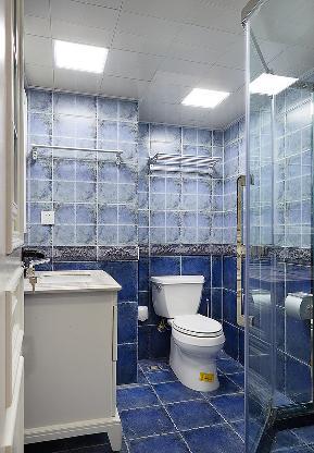 卫生间图片来自家装大管家在140平简约美式复式 就是这么大气的分享