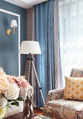 客厅图片来自家装大管家在140平简约美式复式 就是这么大气的分享