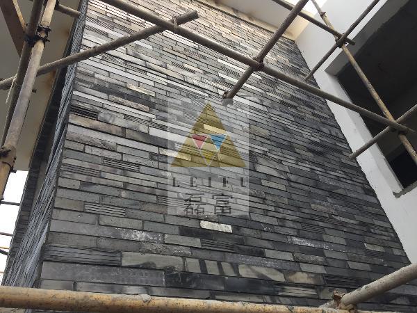 中式材料砖瓦别墅简约其他露台来自磊富马赛克-外墙图片v材料在古大的带肌理别墅图片
