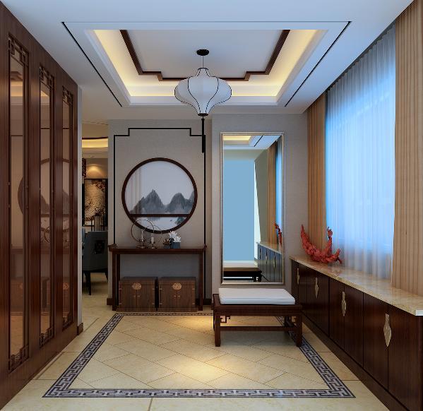 门厅原本是开发商送的面积不属于室内,通过改造,当做门厅,同时加上玄关避免户门直冲着对面厨房门;原客卫,通过把客卫墙体向里移动,可以增加出一个门厅的衣帽柜,同时原来的客卫改成衣帽间,供次卧使用。