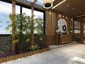 别墅 白领 中式 奢华 阳台图片来自tjsczs88在梦回家园的分享