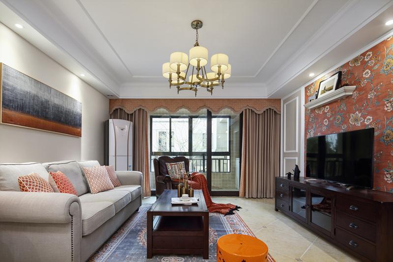 三居 小资 收纳 客厅图片来自周晓安在晓安设计 | 焕彩人生 | 简美的分享