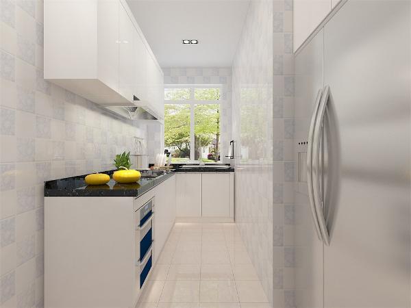 卫生间厨房均用300*300暖色防滑砖正铺,卫生间放置了金属框架的架子,可以存放一些生活用品,大大增加了储物空间。