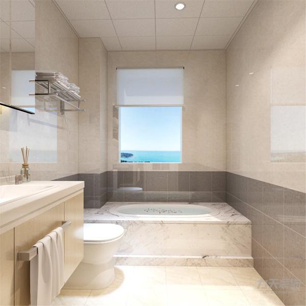 卫生间有浴缸的设置通风较好