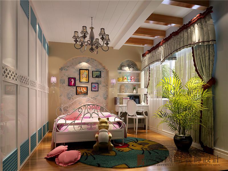 欧式 混搭 欧式混搭 四居 V7西园 儿童房图片来自沙漠雪雨在V7西园175平米欧式混搭范儿的分享