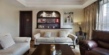 柏林爱乐170平米三居室美式风格