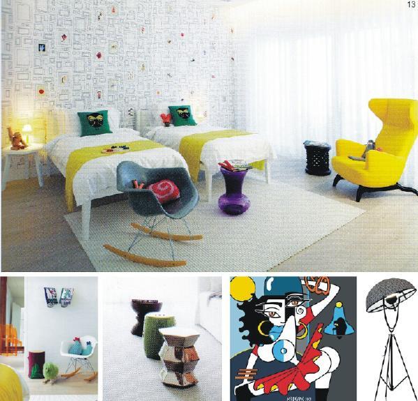 卧室家具风格参考图