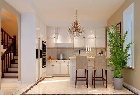 欧式风格 孔雀城 别墅装修 高富帅 定制家装 厨房图片来自业之峰装饰旗舰店在浪漫欧洲的分享
