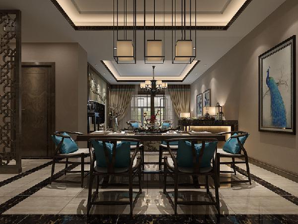 小巧而精致的中国风茶具,用古玩、盆景和精致的工艺品来加以点缀,营造出了禅的意境。