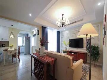 90平米温馨简美两居室