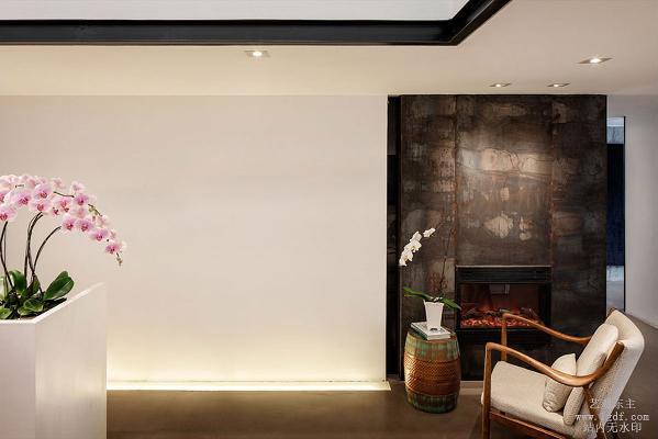 简约新中式办公室,一个舒适的的办室环境对工作效率的提高不可忽视。