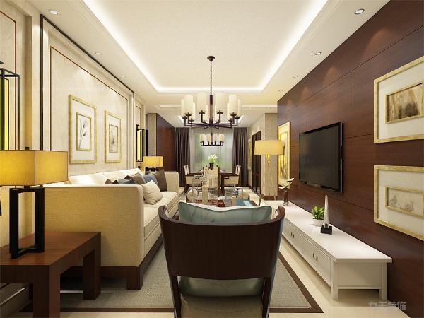 中式风格便是以中国传统古典文化作为背景的。营造的是极富中国浪漫情调的生活空间。