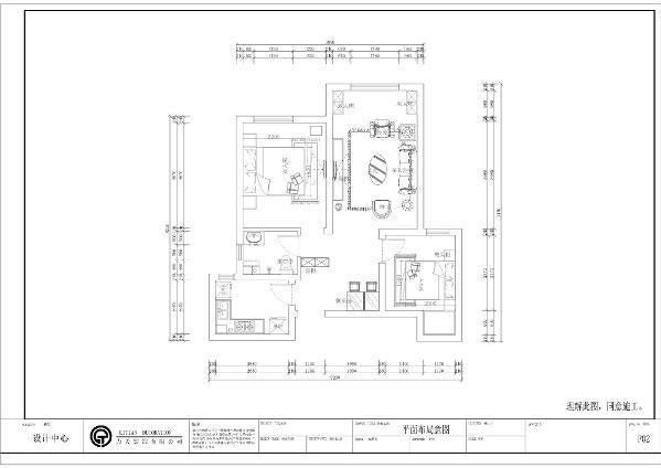 从入户门开始,左手边是厨房,厨房布局方正,适合做L型橱柜,节省空间又美观,餐厅紧邻厨房,带来了很大的便利性。次卧面积较小,通过合理的布局能够满足生活所需。