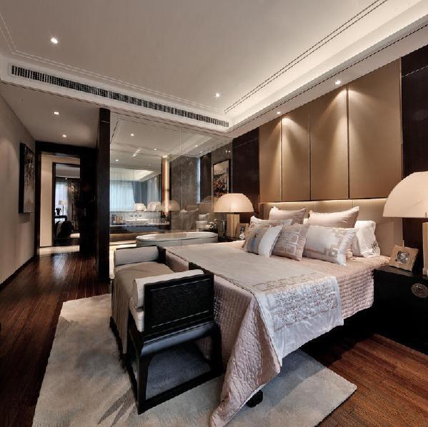 阳光城地产中式风格卧室装修
