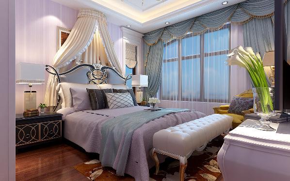 居室有的不只是豪华大气,更多的是惬意和浪漫。通过完美的典线,精益求精的细节处理,带给家人不尽的舒服触感,实际上和谐是欧式风格的最高境界。