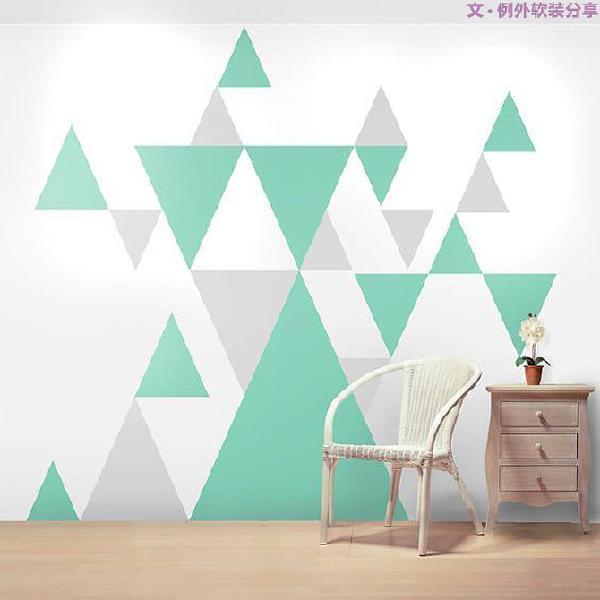 大片留白的墙,简单大气的家具,老觉得少了什么元素。没错,是少了色彩,这些彩色几何图案家具给家带来一些亮眼的色彩。