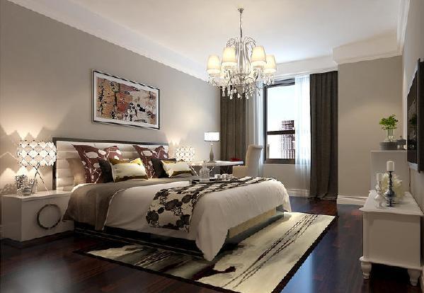 俊发城现代简约风格装修卧室