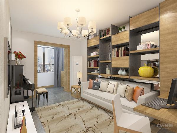 客厅作为待客区域要有足够的空间,不能太过拥挤,但是也不能少了功能。所以在设计中合理的安排着每一件软装,合理利用空间。规整不杂乱。