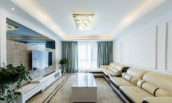 首先看到的是客厅,看着这一地的抛釉转,有没有觉得和沙发颜色很搭,不为别的,主要是因为它耐脏!!!还有这耀眼的吸顶灯,配合沙发和瓷砖颜色,是不是也很个性让家里的档次一下子上升了好几个个档次