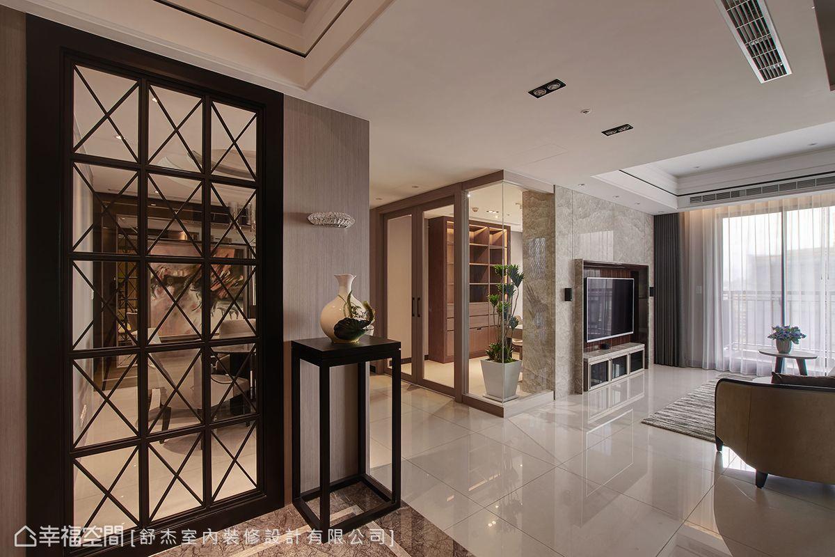 四房 简约 现代 收纳 旧房改造 玄关图片来自幸福空间在风風尚雅逸的分享