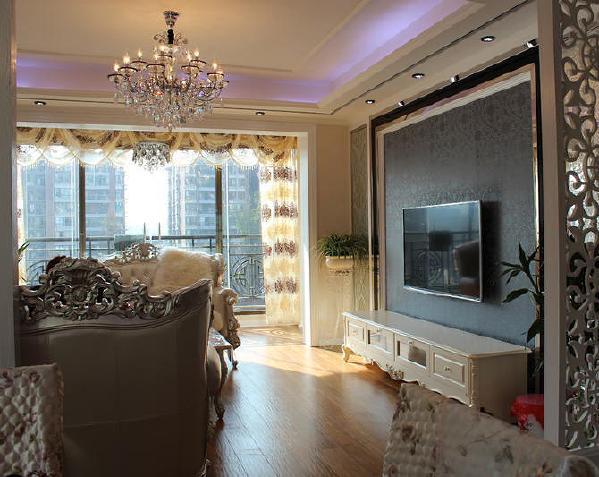 未来方舟欧式新古典风格装修客厅