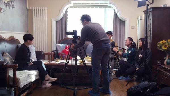 BTV《超强设计》节目组现场拍摄花絮