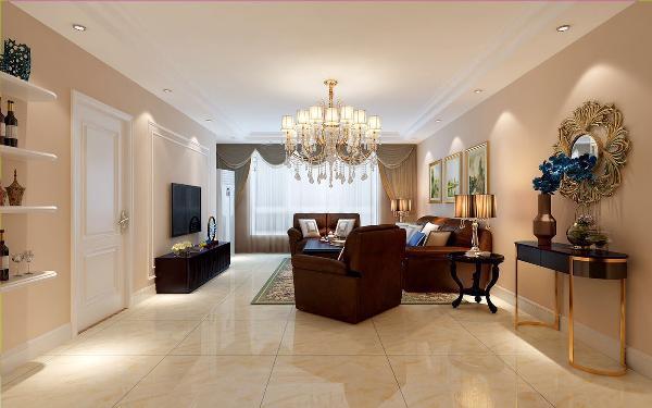 原有家具的保留,结合方正聚财的观点统一协调。