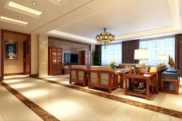 一层客厅影视背景墙着实体现了无石不好的特点,整面墙用麒麟玉石铺设,用亮色的白龙玉做对称点缀,豪华大气,瞬吸眼球。