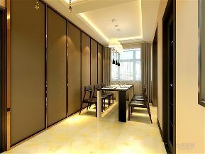华城锦绣 简约 三居 餐厅图片来自阳光放扉er在力天装饰-华城锦绣134㎡的分享